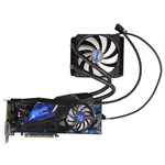 HIS 冰酷 R9 290X Hybrid 限量版 4GB 显卡/HIS