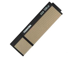 东芝尊闪 USB3.0闪存盘TransMemory EXII 128G(V3OS2-128GT)图片