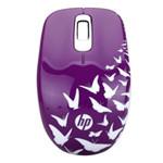 惠普Z3600紫色蝴蝶无线鼠标 鼠标/惠普