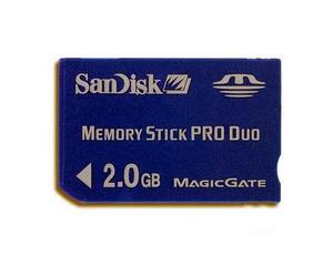 闪迪 Sandisk MS Pro Duo(2GB)图片