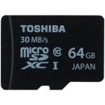 东芝 microSDXC UHS-I卡 class10(64GB) 闪存卡/东芝