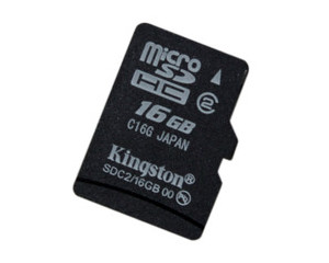 金士顿 Micro SDHC卡 Class2(16GB)图片