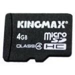 KINGMAX Micro SDHC卡 Class4(4GB) 闪存卡/KINGMAX