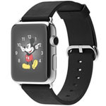 苹果watch(42mm不锈钢表壳搭配黑色经典扣式表带) 智能手表/苹果