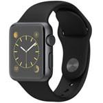 苹果watch Sport(38mm深空灰色铝金属表壳搭配黑色运动型表带) 智能手表/苹果