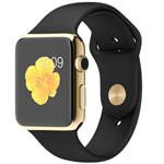 苹果watch Edition(42mm 18K黄金表壳搭配黑色运动型表带) 智能手表/苹果