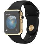 苹果watch Edition(38mm 18K黄金表壳搭配黑色运动型表带) 智能手表/苹果