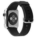 苹果38毫米黑色经典扣式表带 数码配件/苹果