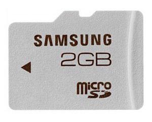 三星Micro SD卡(2GB)(MB-MS2G/CN)图片