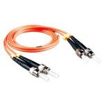 罗格朗1米ST-ST双芯多模光纤跳线