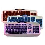 新盟曼巴狂蛇K29三色背光游戏键盘 键盘/新盟
