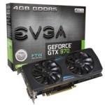 EVGA GTX970 4G Dual FTW w 显卡/EVGA