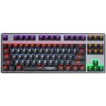 新贵科技GM300悬浮式炫光机械键盘  87键 键盘/新贵科技