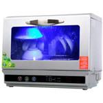 Govos 全自动新一代超音波洗碗机台式家用  金属银 消毒柜/Govos