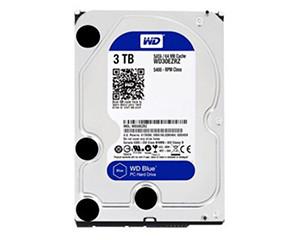 西部数据蓝盘3TB SATA6Gb/s 64M(WD30EZRZ)图片