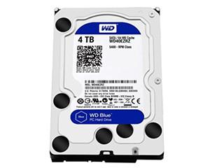 西部数据蓝盘4TB SATA6Gb/s 64M(WD40EZRZ)图片