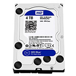 西部数据蓝盘4TB SATA6Gb/s 64M(WD40EZRZ) 硬盘/西部数据