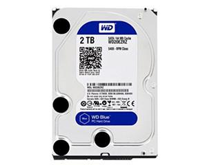 西部数据蓝盘2TB SATA6Gb/s 64M(WD20EZRZ)图片