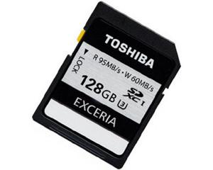 东芝SD UHS-1 U3存储卡(128GB)图片