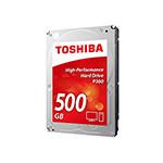 东芝P300系列 7200转64M 500GB(HDWD105) 硬盘/东芝