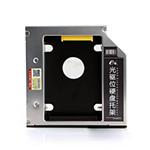 e磊笔记本光驱位硬盘托架12.7mmSSD固态SATA3防震 光驱位硬盘架 通用EL07 12.7mm厚 EL07 DVD刻录机/e磊