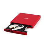 e磊外置光驱康宝 笔记本外接光驱 台式移动DVD光驱 USB光驱 CD刻录机 EL-R7 红色 DVD刻录机/e磊