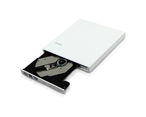 e磊高速USB3.0外置DVD刻录机 移动光驱 笔记本光驱台式机光驱 EL-R10 白色图片