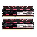 宇帷BLITZ系列火焰红 DDR3 2400 8GB(4G×2条)台式机内存(AVD3U24001004G-2BZ1R) 内存/宇帷