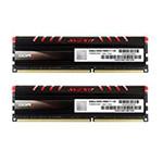 宇帷CORE系列火焰红 DDR3 1600 16GB(8G×2条)台式机内存(AVD3U16001108G-2CIR) 内存/宇帷