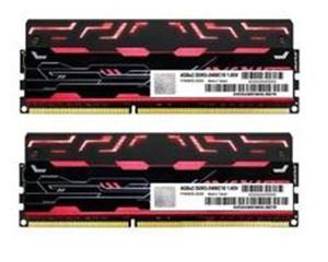 宇帷BLITZ系列火焰红 DDR3 2400 8GB(4G×2条)台式机内存(AVD3U24001004G-2BZ1R)图片
