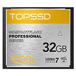 天硕Compact Flash 专业系列 1000X(32GB) 闪存卡/天硕