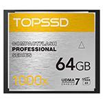 天硕Compact Flash 专业系列 1000X(64GB) 闪存卡/天硕