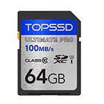 天硕SDHC 旗舰系列 100MB/s(64GB) 闪存卡/天硕