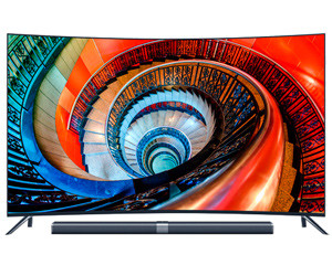 小米电视3S 65寸曲面