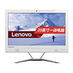 联想IdeaCentre AIO 300(I3-6100T/4GB/500GB/集显/20英寸)白色