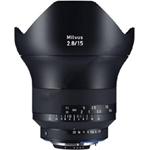 卡尔蔡司Milvus 15mm f/2.8 镜头&滤镜/卡尔蔡司
