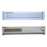 AOSENS(奥盛) 2U 机柜配电盘 配电屏 标准机柜配电单元 2U 电信灰 200V PDU电源分配器/AOSENS(奥盛)