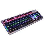 国宇F585全彩背光机械键盘 键盘/国宇