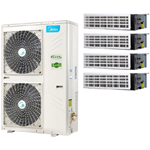 美的MDVH-V140W/N1-610P(E1) 中央空调/美的