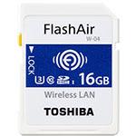东芝FlashAir SD-UWA系列(W-04)(16GB) 闪存卡/东芝