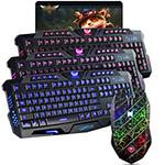 虎猫炫光炫酷裂纹背光键鼠套装(M200+X8) 键鼠套装/虎猫