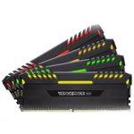 海盗船复仇者RGB 32GB DDR4 3466(CMR32GX4M4C3466C16) 内存/海盗船