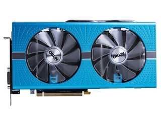 蓝宝石RX 590 8G D5 超白金 极光版图片