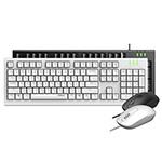 雷柏X120Pro有线光学键鼠套装 键鼠套装/雷柏