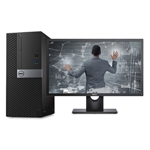 戴尔OptiPlex 7050MT(i5 7500/8GB/256GB+1TB/2G独显/DVDRW/23LCD) 台式机/戴尔
