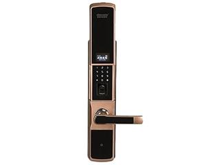 迪威乐D206透明屏电动滑盖APP密码指纹锁