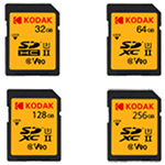 柯达Kodak SD 128GB UHS2/U3/V90 闪存卡/柯达