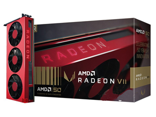 AMD Radeon VII 50周年纪念版图片