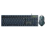 雷柏V100S背光游戏键鼠套装 键鼠套装/雷柏