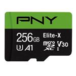 PNY Elite-X U3 A1 TF (microSD) 存储卡(256GB) 闪存卡/PNY